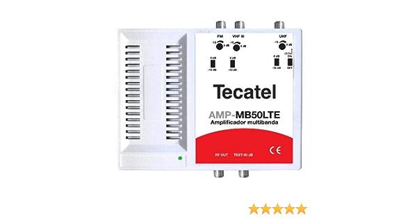 Central Multibanda 50dB 3e UHF/VHF/FM LTE 5G