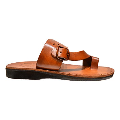 Ezra Läder Slip-on Rem Slide Sandal Tofflor