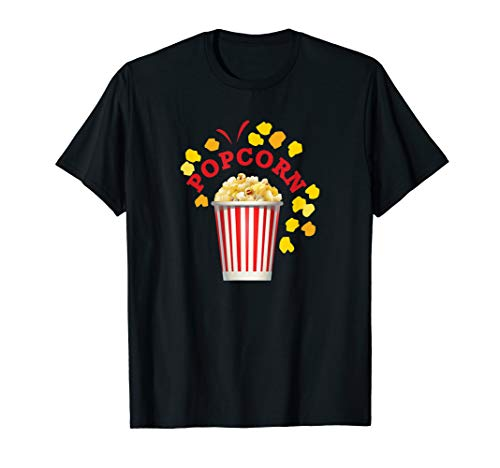 Popcorn Halloween Costume T-shirt Groups Food Items -