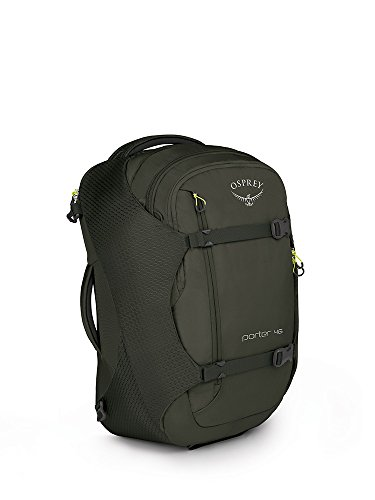 Osprey Packs Porter 46 Travel Backpack, Castle Grey, One Size