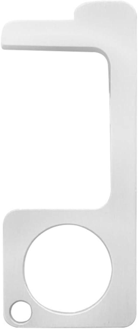 llave de manija de puerta Abrepuertas port/átil sin contacto color dorado herramienta para ascensor aleaci/ón de zinc HelloCreate