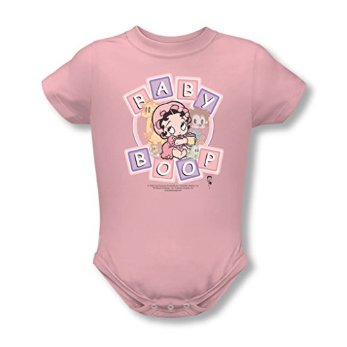 Betty Boop - Baby Boop & Friends Infant T-Shirt In Pink, 0-6 Months, Pink