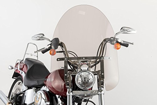 - Slipstreamer SS-30-22TFQB SS-30 22in. Classic Windshield with Black Hardware - Smoke