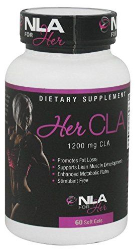 NLA For Her CLA, 1200 mg, 60 Count 2 pack
