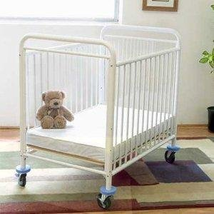 LA Baby Condo Metal Window Crib, White from LA Baby
