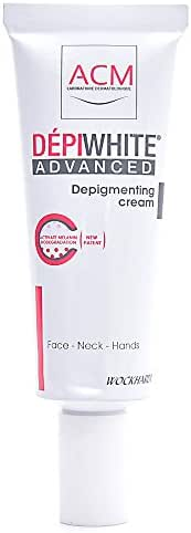 Wockhardt Depiwhite Advanced Depigmenting Cream For Neck,Face And Hands 40 ml