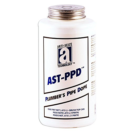 AST-PPD 25118 Plumbers Pipe Dope, Professional Grade, 1 pint, Tan