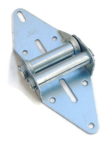 Garage Door Hinge #2 - HEAVY DUTY - 14 Gauge Steel With Galvanized Finish - Residential/Light Commercial Garage Door Replacement