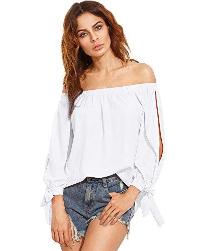 zanzea Women Long Sleeve Blouse Casual Loose Shirt (Pink) - 2
