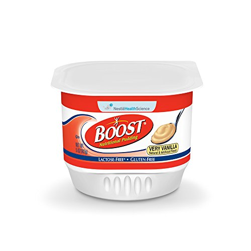Boost Nutritional Pudding, Very Vanilla, 5 Ounce Cans (Pack of 48)