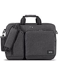 Duane 15.6 Inch Laptop Hybrid Briefcase, Converts to Backpack, Grey