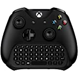 Xbox One Keyboard, Megadream Chatpad Mini Wireless Gaming Keypad Gamepad with 3.5mm Audio/Headset Jack for Microsoft Xbox One/Xbox One Elite/Xbox One S/Xbox One X Controller - 2.4GHz