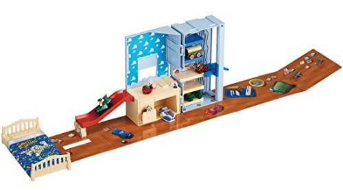 Transformed into Tomica Toy Story Andy room! Panorama bag Woody
