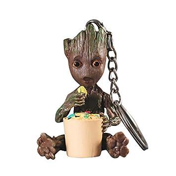 thematys® Baby Groot Llavero - Figura de acción de la película clásica - Perfecto como Regalo - I Am Groot (Picar)