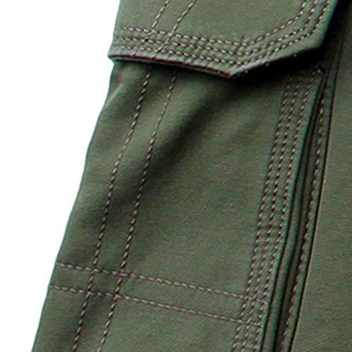 Velluto Bolawoo Lavoro Uomo Da Cargo Inverno Mode Addensare Marca Dritti Armeegrün Di Casual Più Pantaloni qTwFTIf