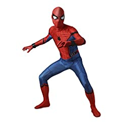 Men's Costume Suit for Spider-Man:Homecoming Cosplay 41xWuNonNTL