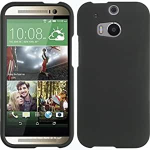 BLACK HARD CASE FOR HTC M8 / ONE 2
