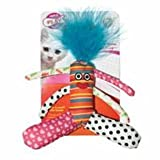 Cat Play Crinkle & Rattle Floppy Fred