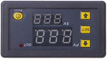 12V Timing Delay Relay Module Cycle Timer Digital LED Dual Display 0-999 Minutes