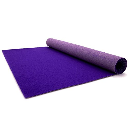 Purple Carpet - Wedding Runner - Ceremony Aisle - VIP Carpet - Event Rug - Purple Colour - 1m x 1m Primaflor - Ideen in Textil