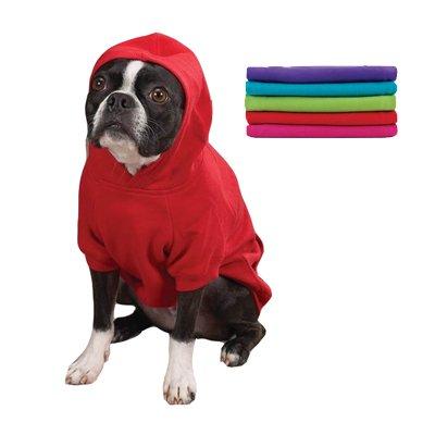 Small Basic Hooded Sweatshirt Raspberry Sorbet, My Pet Supplies