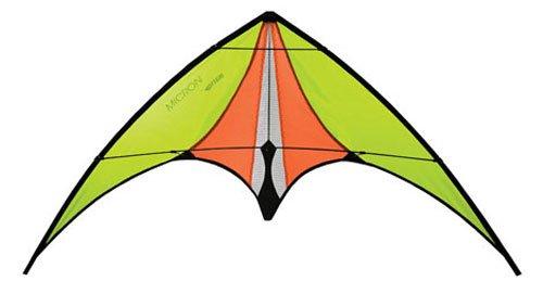 (Prism Micron Dual-line Stunt Kite, Yellow)