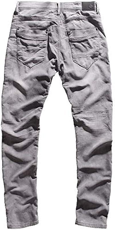 Sublevel Męskie spodnie Denim spodnie dresowe Cargo Vintage Jogging Jeans cargo spodnie cargo Used Look Urban Surface: Odzież
