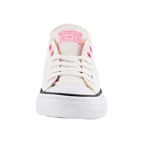 Converse Glow Femme Bas pink White 555909c Blanc w1x1zW0rqp