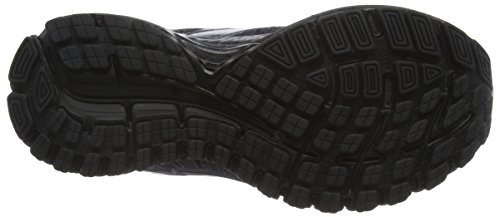 Running Black GTS Adrenaline Zapatillas W para Negro Brooks de Mujer Anthracite 16 qFY1w44x