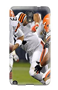 Premium Clevelandrowns Back Cover Snap On Case For Galaxy Note 3