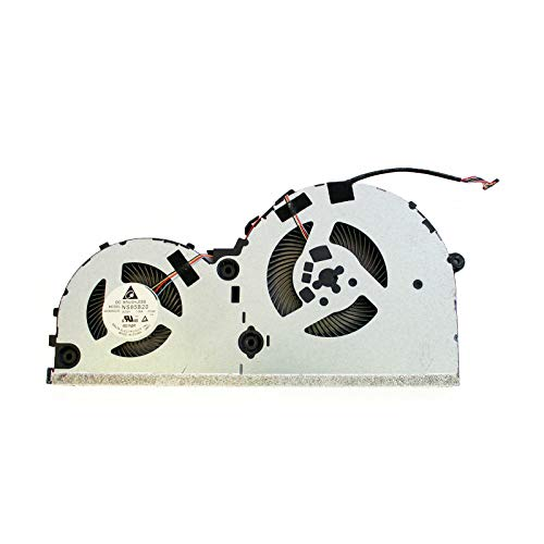 CPU Cooling Fan Replacement for Lenovo Ideapad 330-15ICH (81FK) NS85B20-17L22 DC28000DLD0