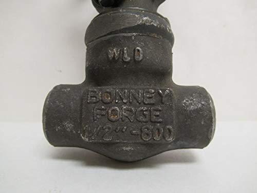 1//2 NPT x Socket Bonney Forge 1//2 WL 11-LE Gate Valve