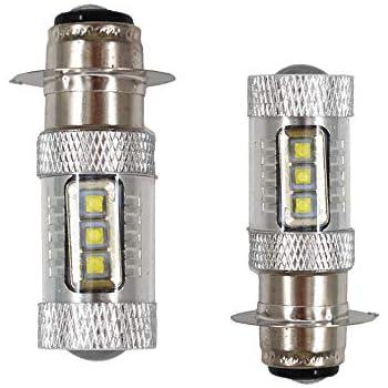 100W For Honda TRX400EX 1999-2008 Sportrax 400 2x4 LED Headlights 2x 6500K Bulbs