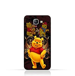 Samsung Galaxy A9 Pro TPU silicone Protective Case with Winnie the Pooh Design