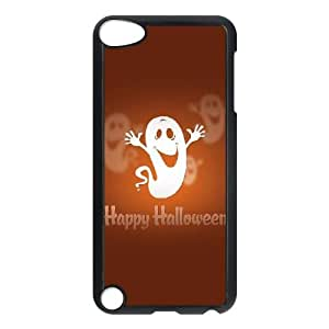 Happy Halloween Cute Ghost iPod Touch 5 Case Black&Phone Accessory STC_161665