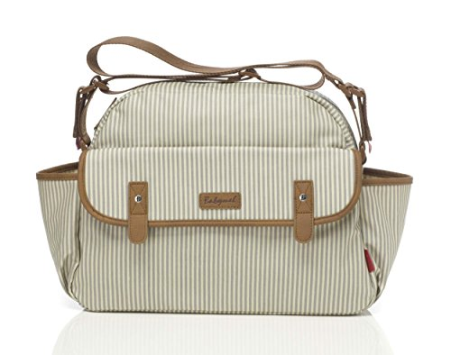 babymel Molly Stripe Grey bm0371