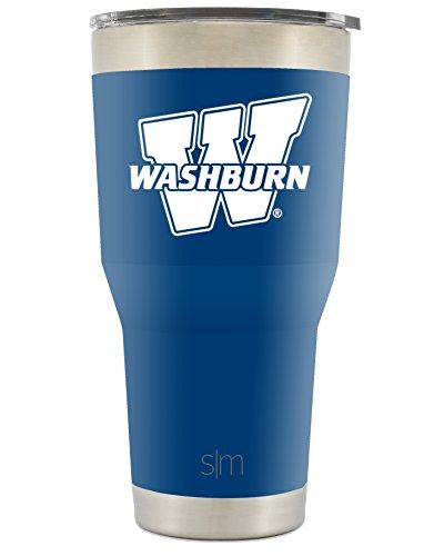 rn University 30oz Cruiser Tumbler - Vacuum Insulated Stainless Steel Travel Mug - WU Ichabods Tailgating Cup College Flask ()
