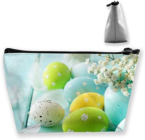 Trapez-Kulturbeutel Tragbare Reisetasche Egg Clutch Bag