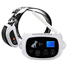 Everteco Wireless Dog Fence Wire Free Pet Containment System No Wire Dog Fencing with Rechargeable Waterproof Receiver Collar 500M Radius Remote Control for Dog Safe Training (Basic with 1 Collar)
