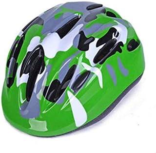 Cobnhdu Casques pour garçons et filles Casque de camouflage pour enfants Casque de camouflage non intégré pour enfants Casque de patinage pour scooter Casque de protection pour bicyclette Casque de sp