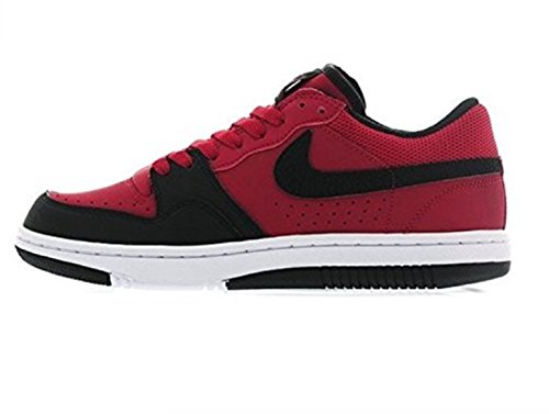 Gym Basketball Court white Force Nike Black Low Red Shoes a4zyqc