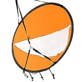 beijieaiguo Voile Kayak Voile Pliable Wind Downwind Wind Voile Accessoires Kayak Voile Paddle pour Bateaux Gonflables…