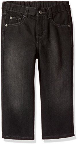 - Wrangler Authentics Boys' Relaxed Straight Jean, black, 3T