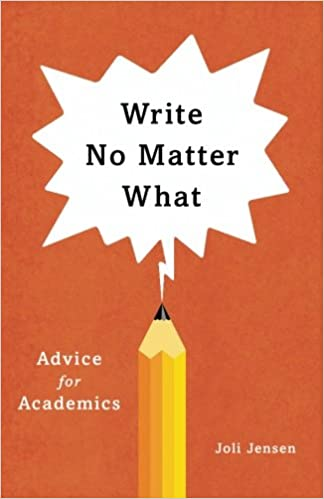 amazon write no matter what advice for academics chicago guides