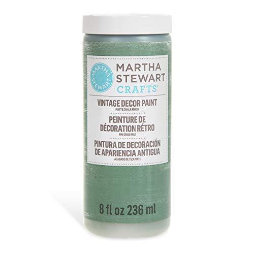 Martha Stewart Crafts 33524 Martha Stewart Vintage Decor Matte Chalk Eucalyptus, 8 oz -