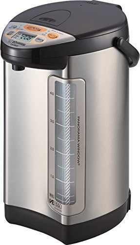 Zojirushi 586362-CV-DCC50XT America Corporation Ve Hybrid Water Boiler And Warmer, 5-Liter, Stainless Dark Brown
