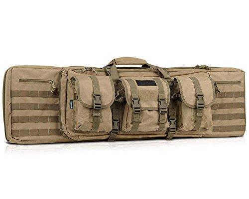 (American Classic Tactical Double Long Rifle Pistol Gun Bag Firearm Transportation Case #7077)