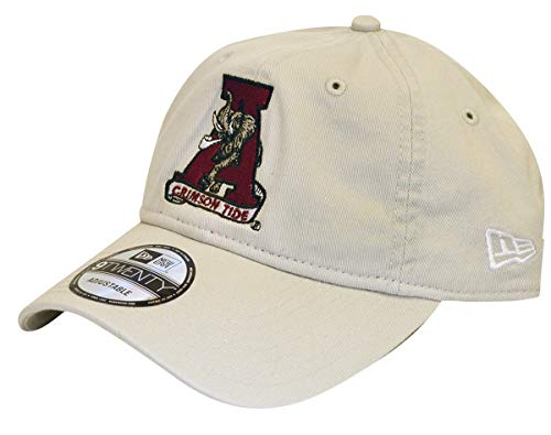 New Era Retro NCAA Cotton Strapback Hat (Alabama Crimson Tide)