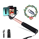Lepamor Wired Selfie Stick Type C Mirror Rear Camera No Battery...