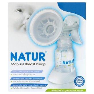 Natur BPA Free Manual Breast Pump 4 oz. Low Price